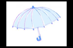③ 雨の日でも配達可能